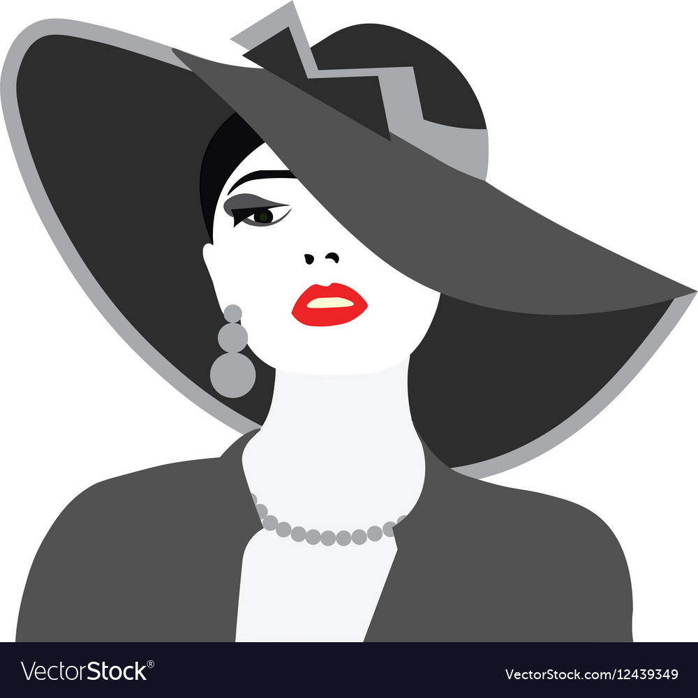 Beautiful Elegant Lady portrait