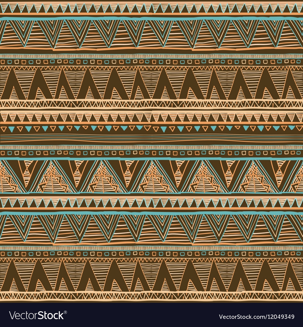 Geometric ethnic seamless pattern Abstract aztec