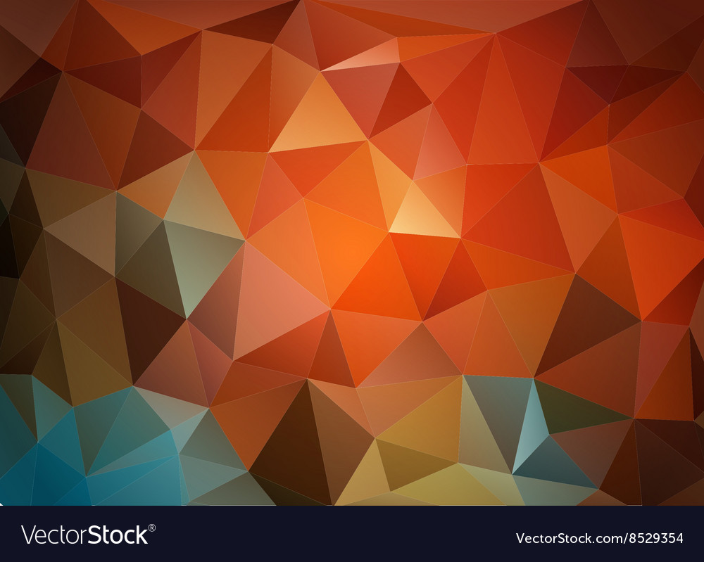 Colorful triangular background for business