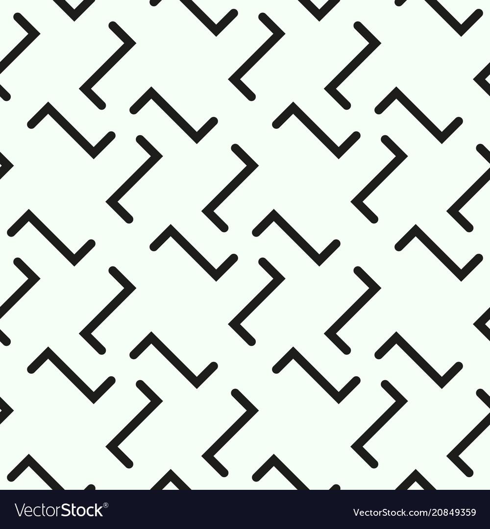 Geometric seamless pattern simple regular