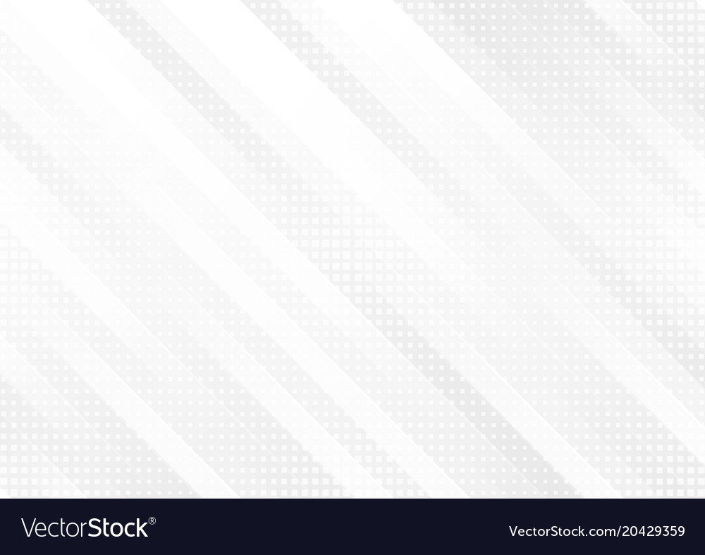 Grey and white tech geometric stripes abstract