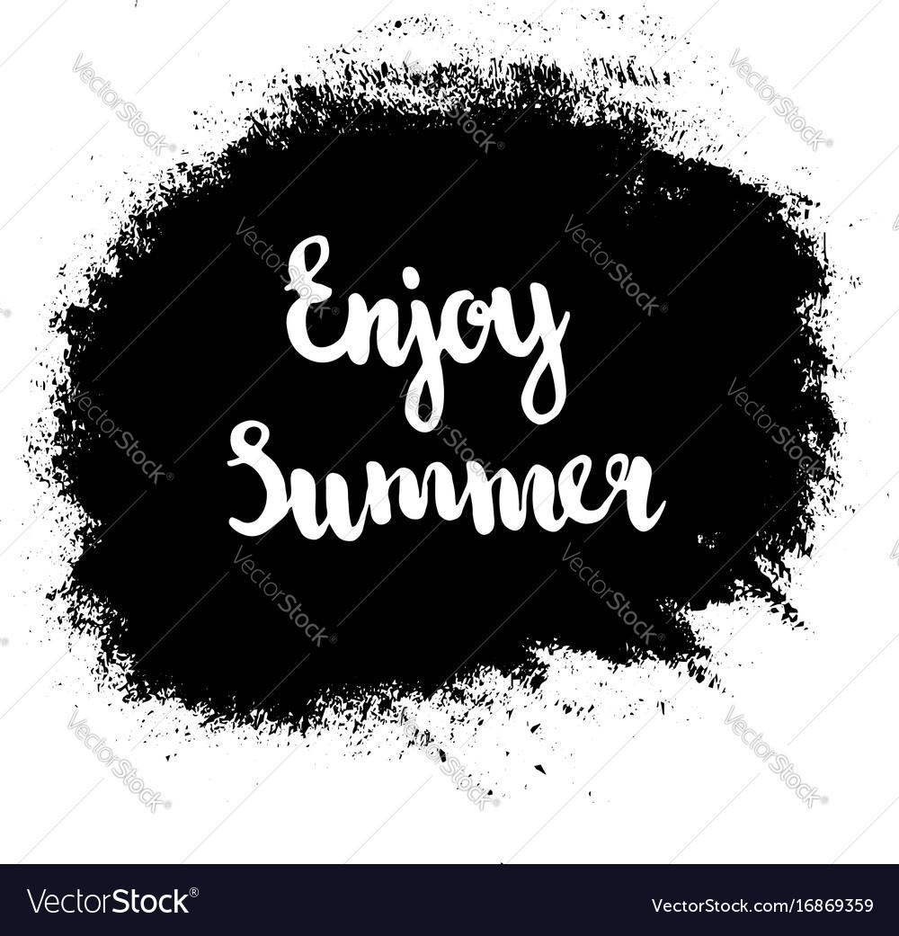 Grunge enjoy summer