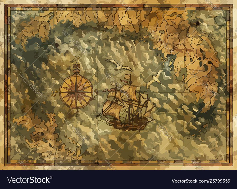Pirate map 4