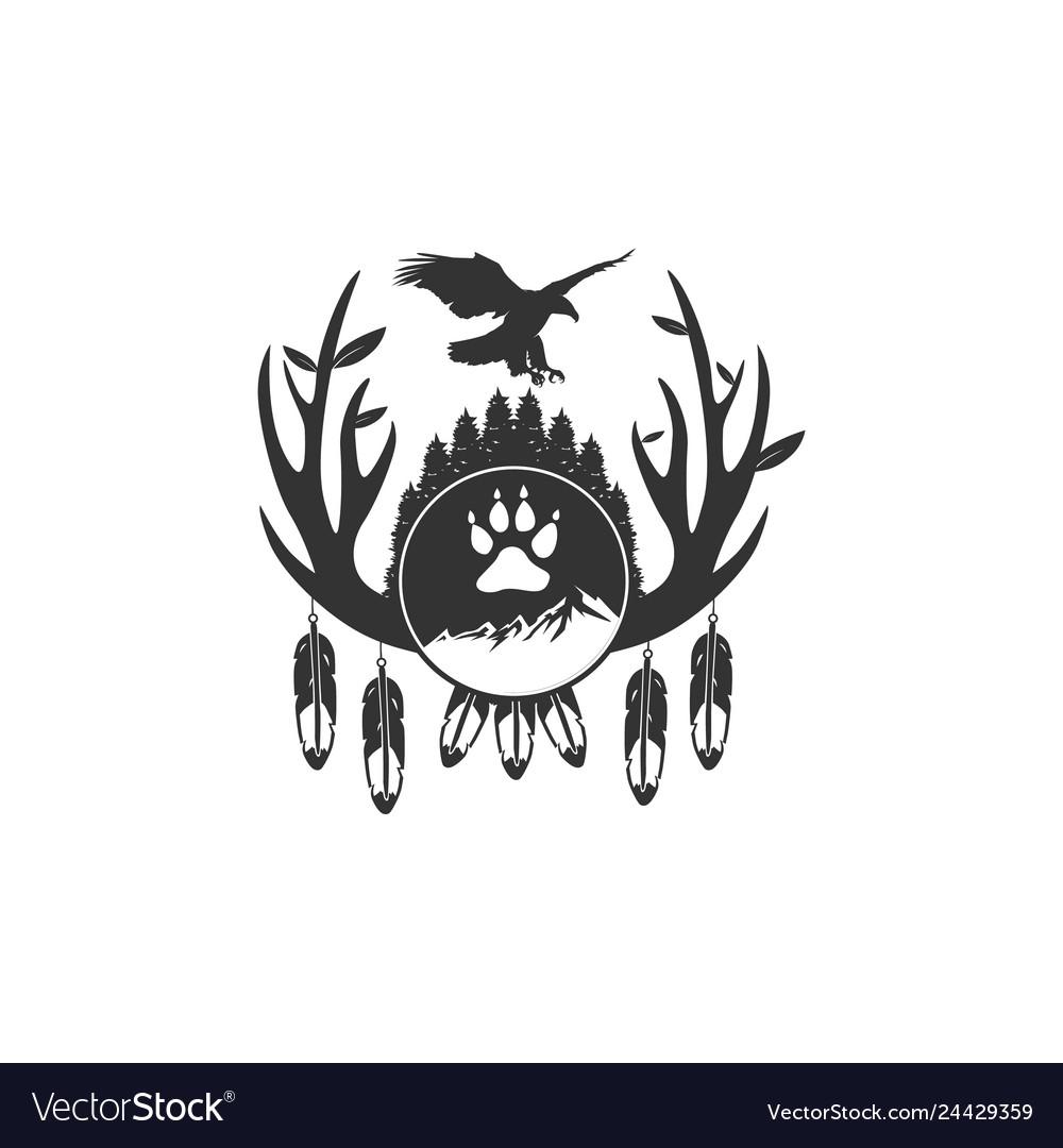 Vintage eagle adventure designs