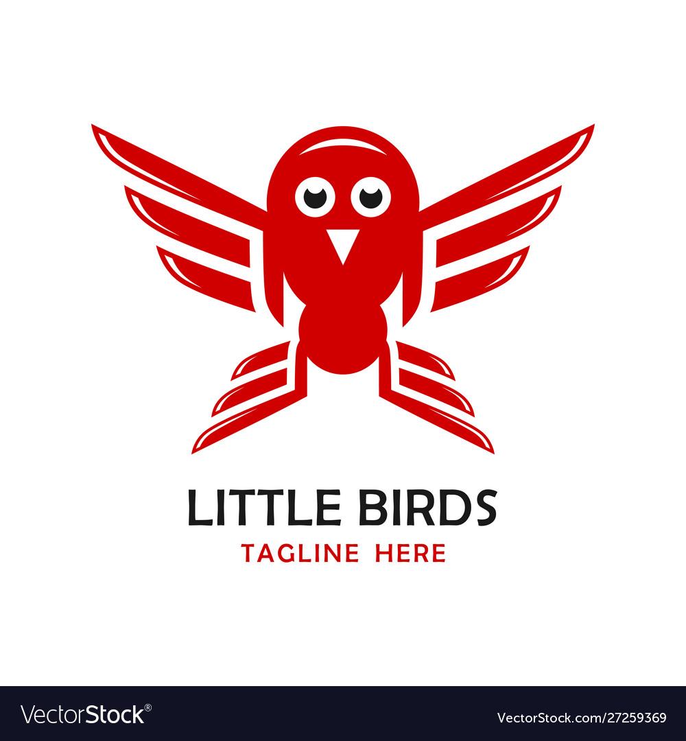 Little birds logo four