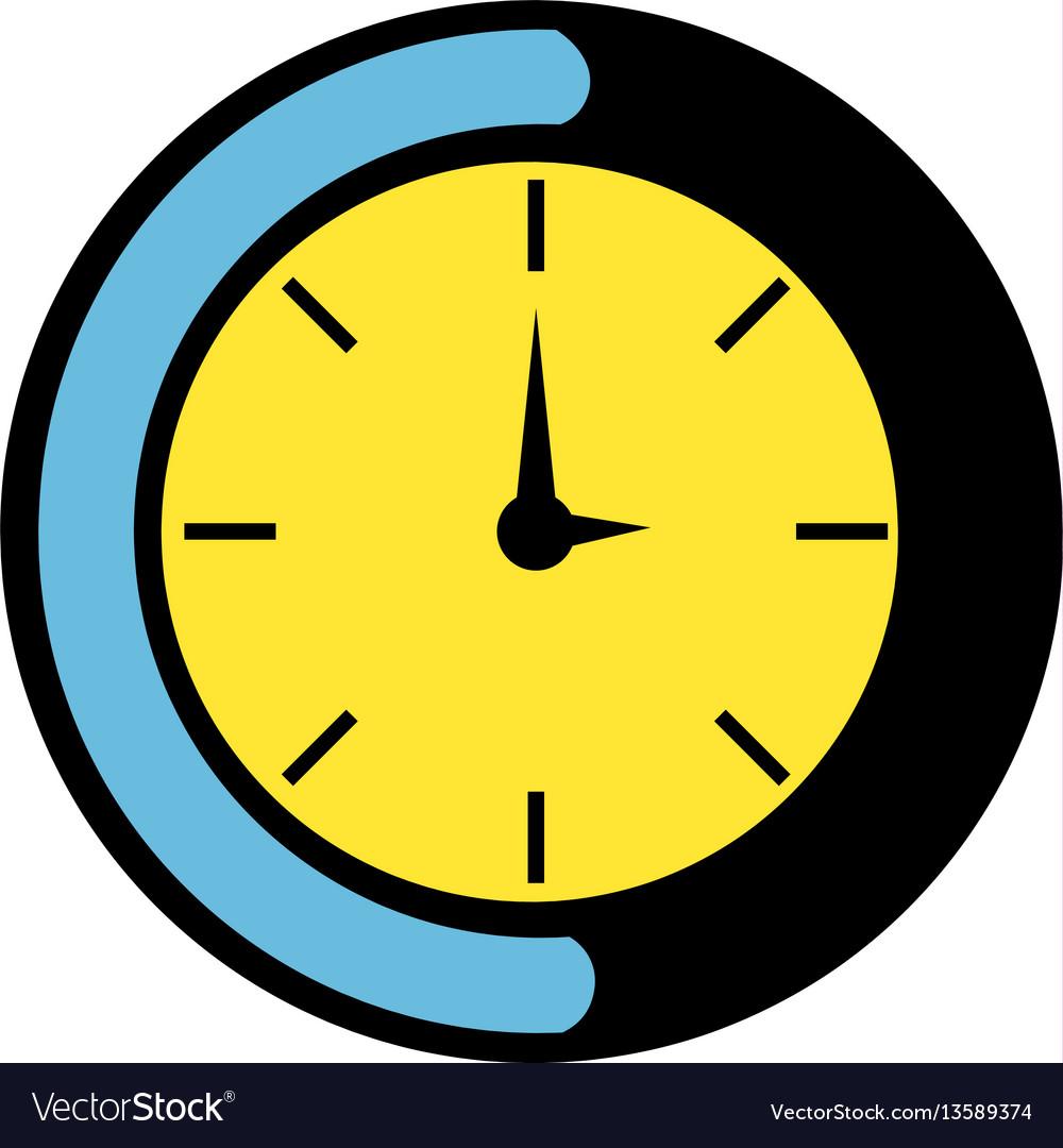 Clock icon icon cartoon