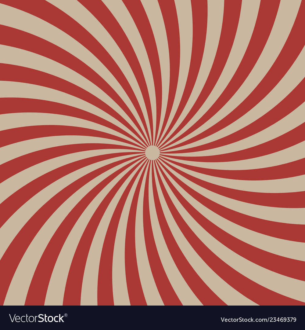 Circus graphic radius effects red retro color and