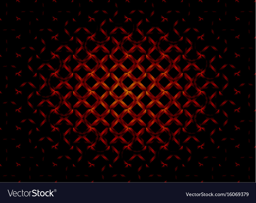 Dark cross rectangle abstract background vector image