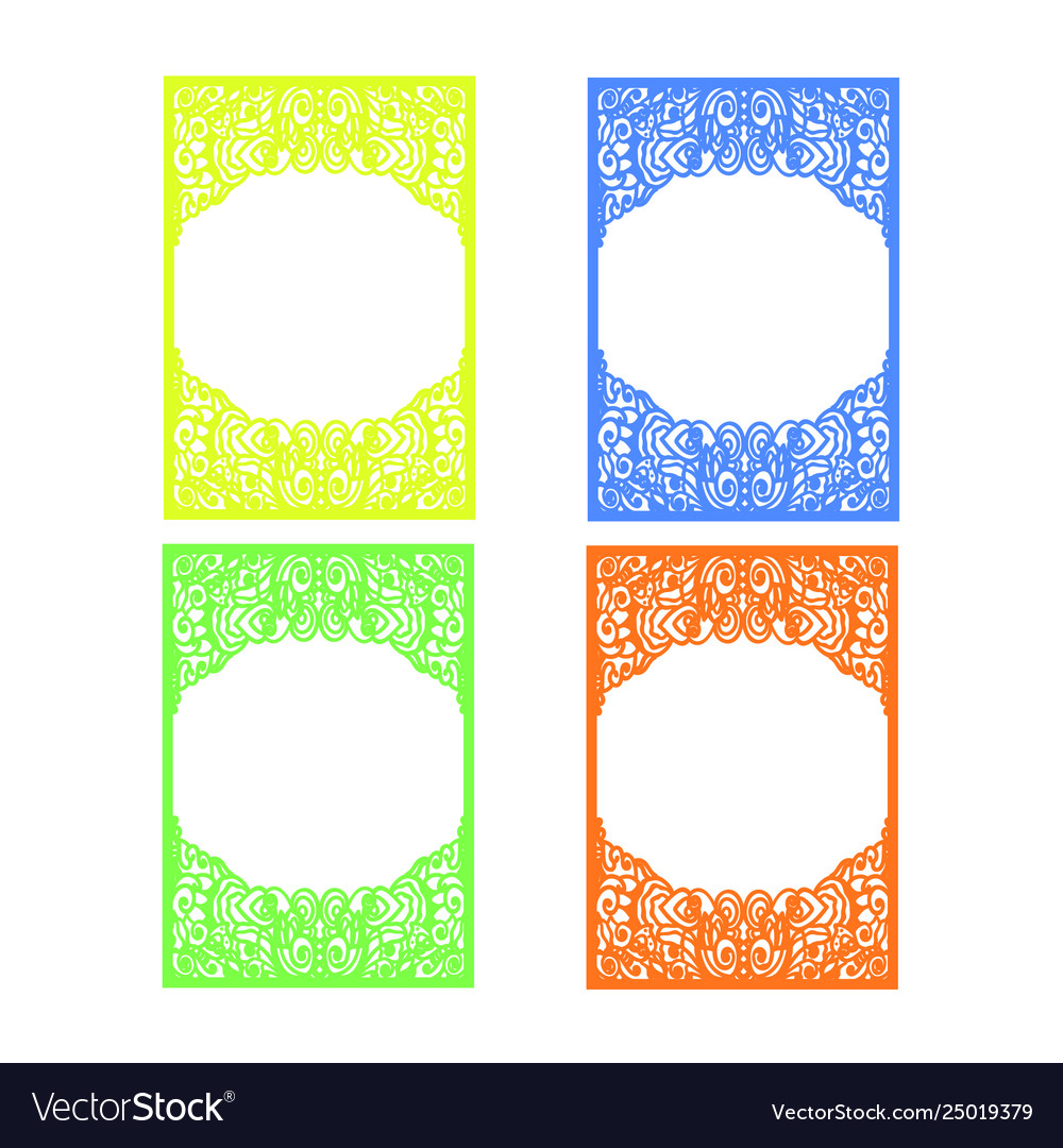 Invitation Background Template With Abstract