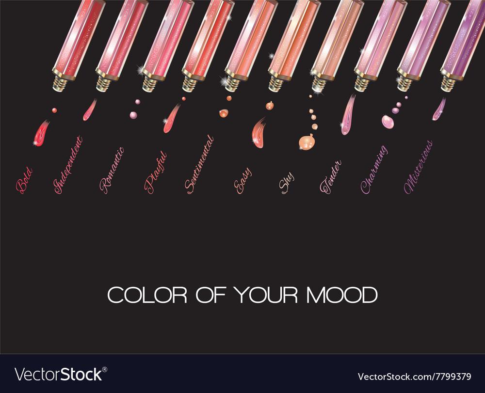 Lip gloss black