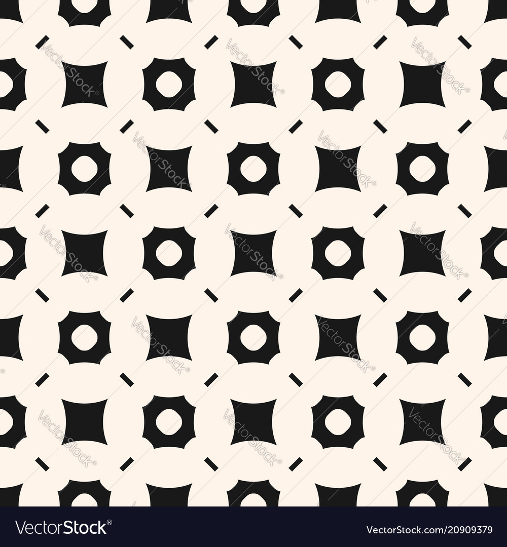 Simple geometric seamless abstract pattern