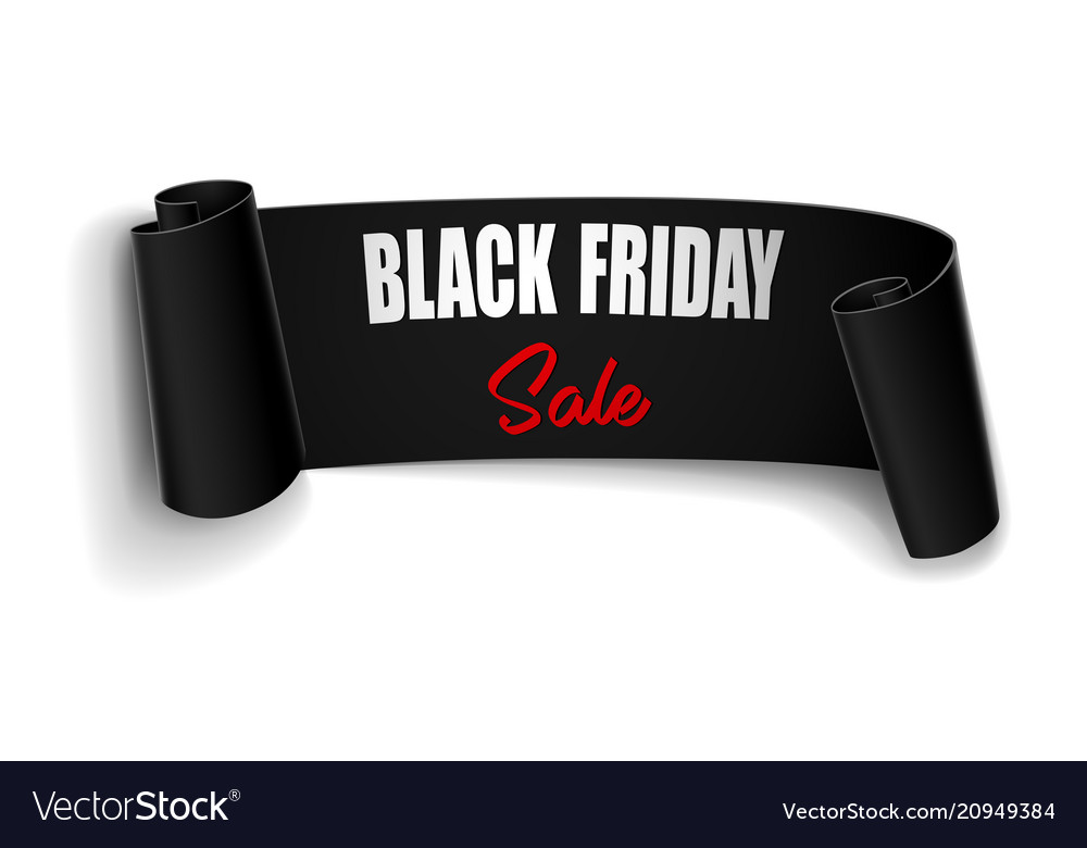Black friday sale background with black
