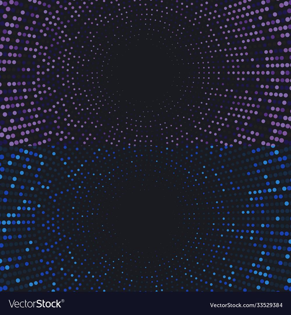 Halftone background circle dots