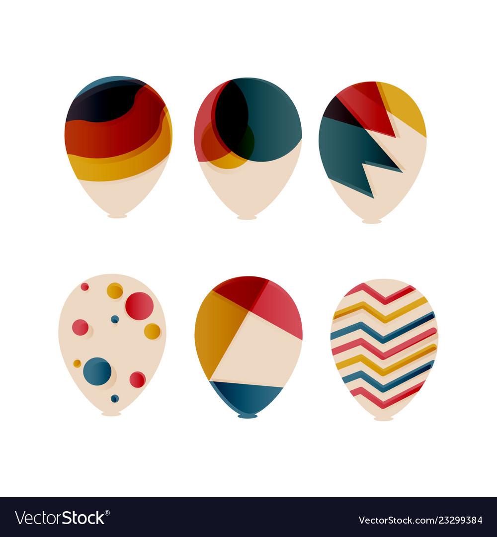 Sets decorative ballon