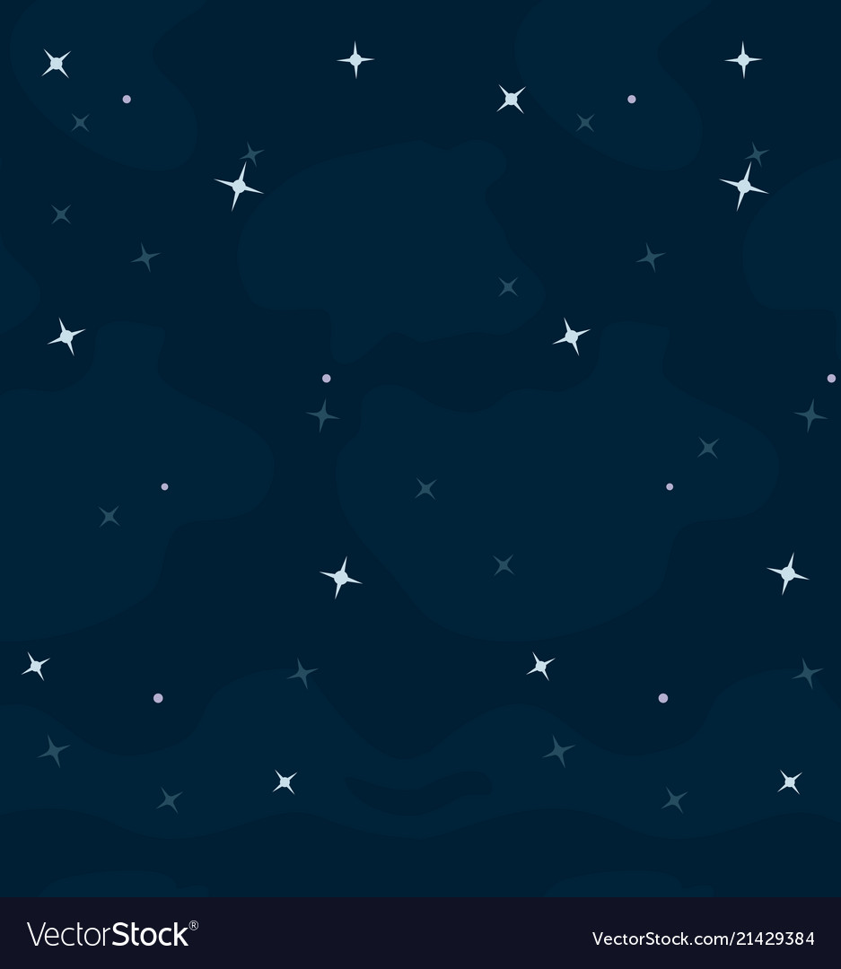 Space cartoon background for a game