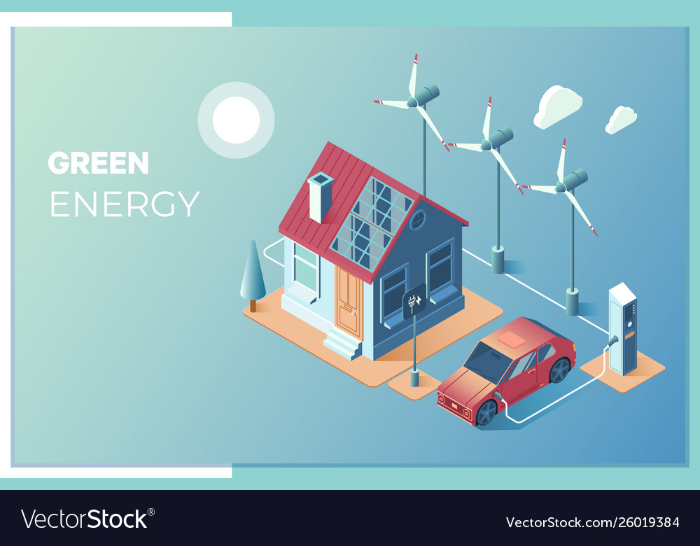 Transmission solar and wind energy for use at