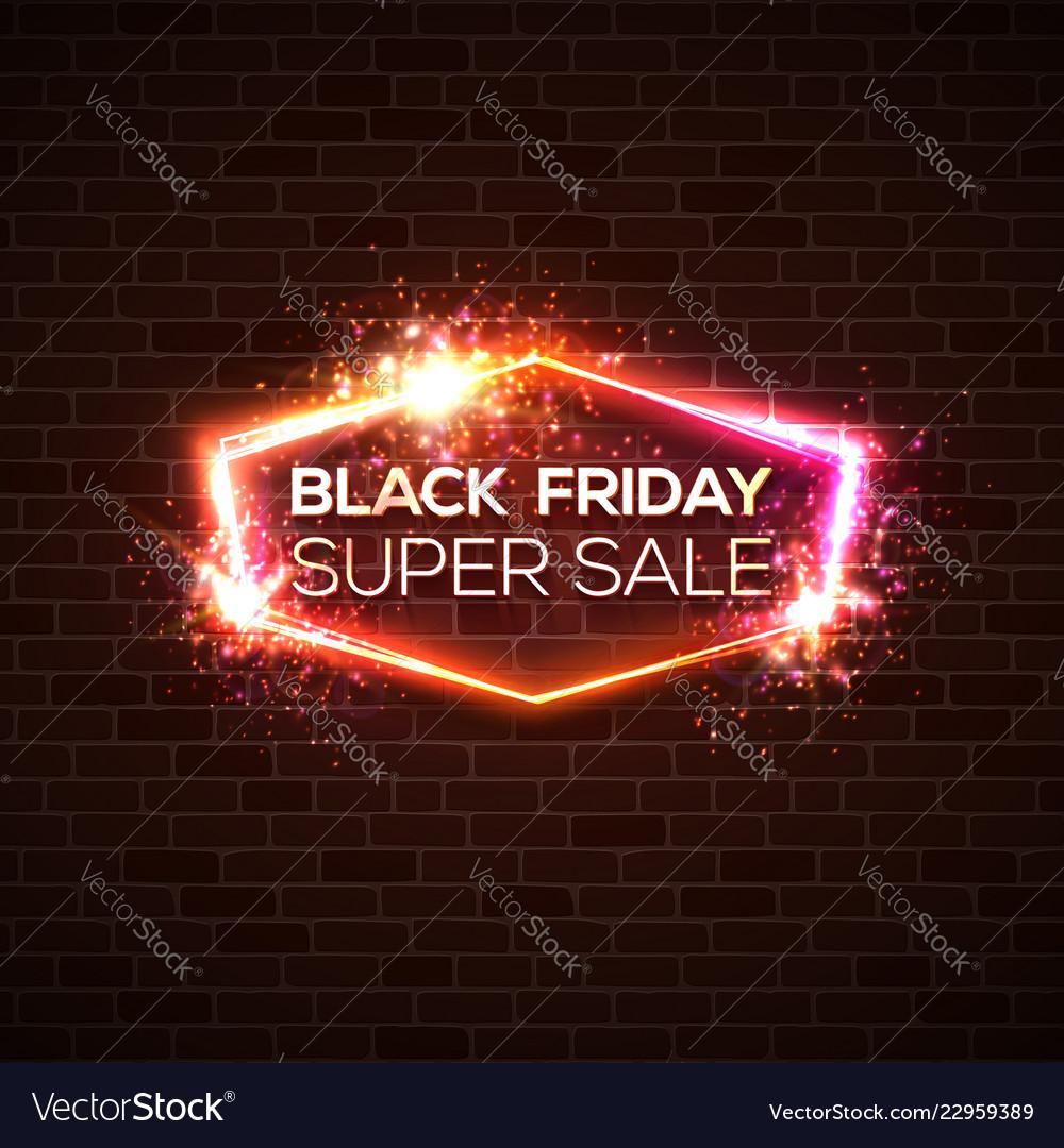Black friday super sale background discount card