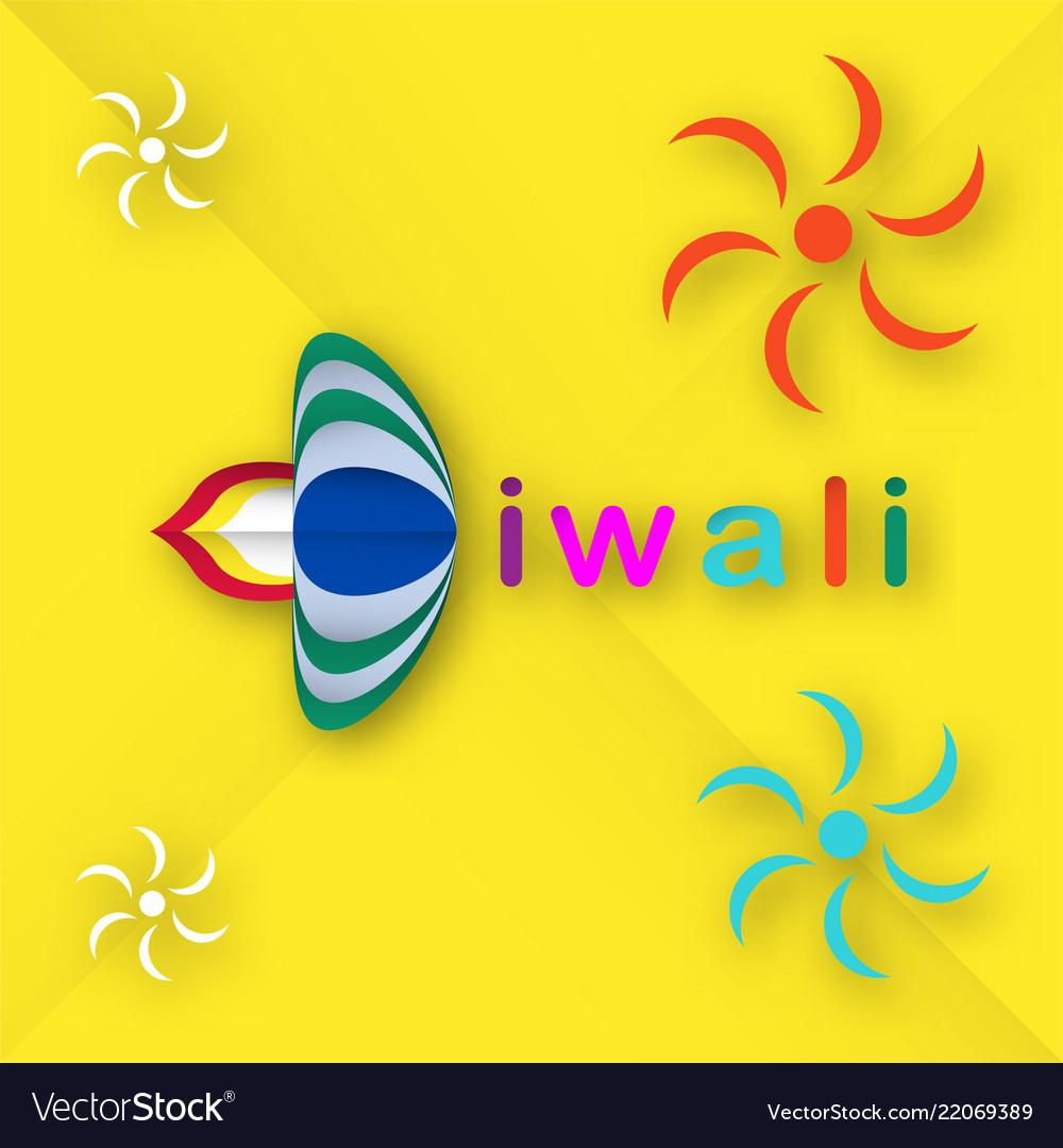 Invitation Card For Diwali Festival Of Hindu