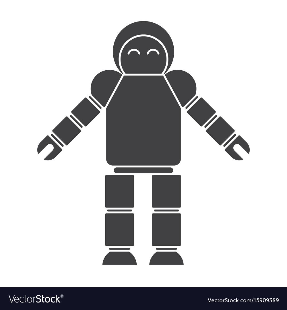 Robotics Icon Royalty Free Vector Image Vectorstock