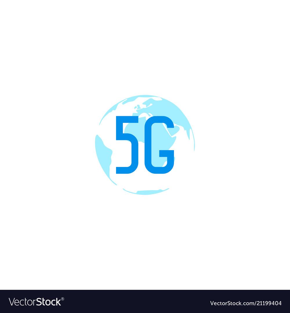 5g sign design template