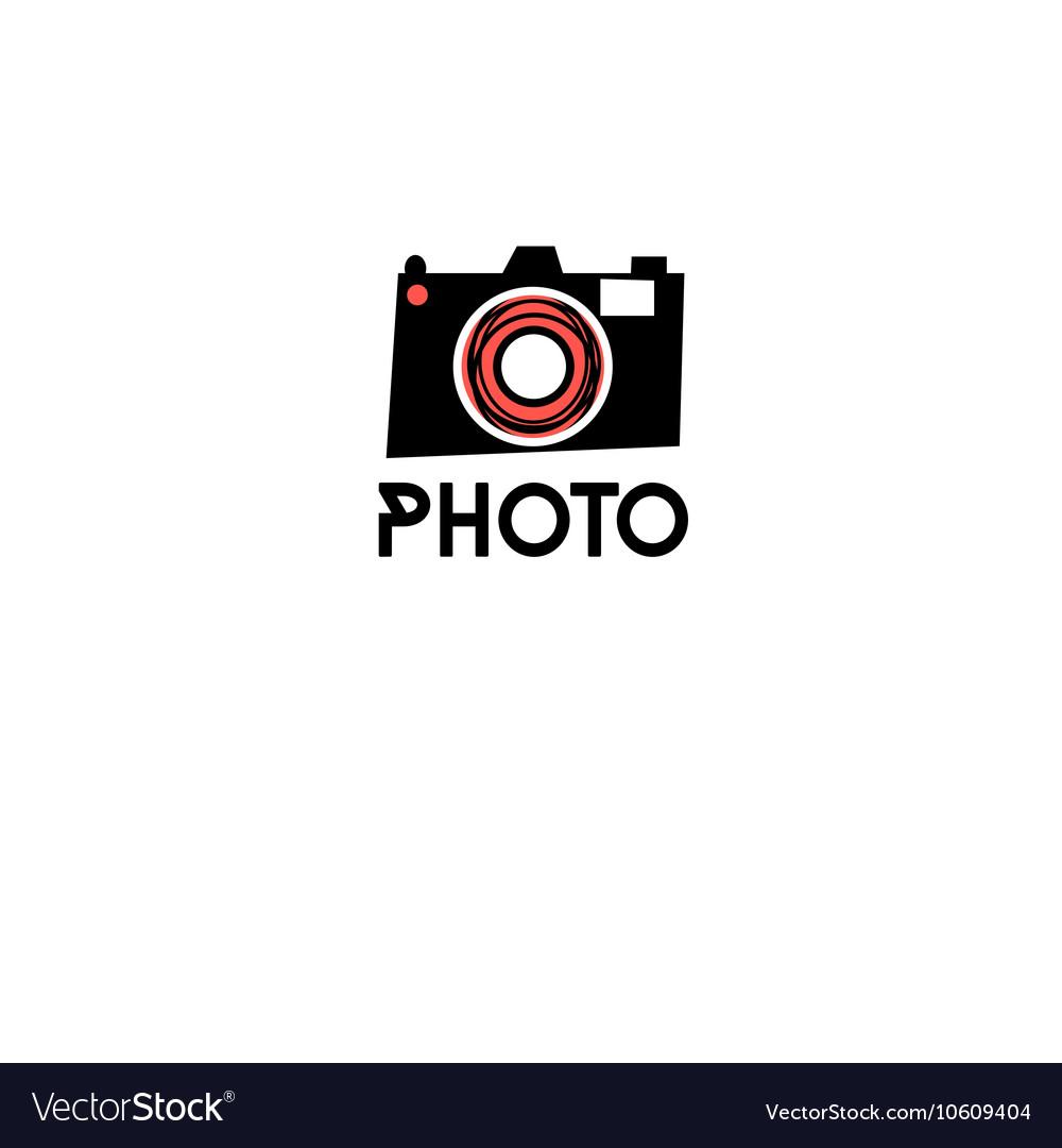 Graphic symbol of a camera