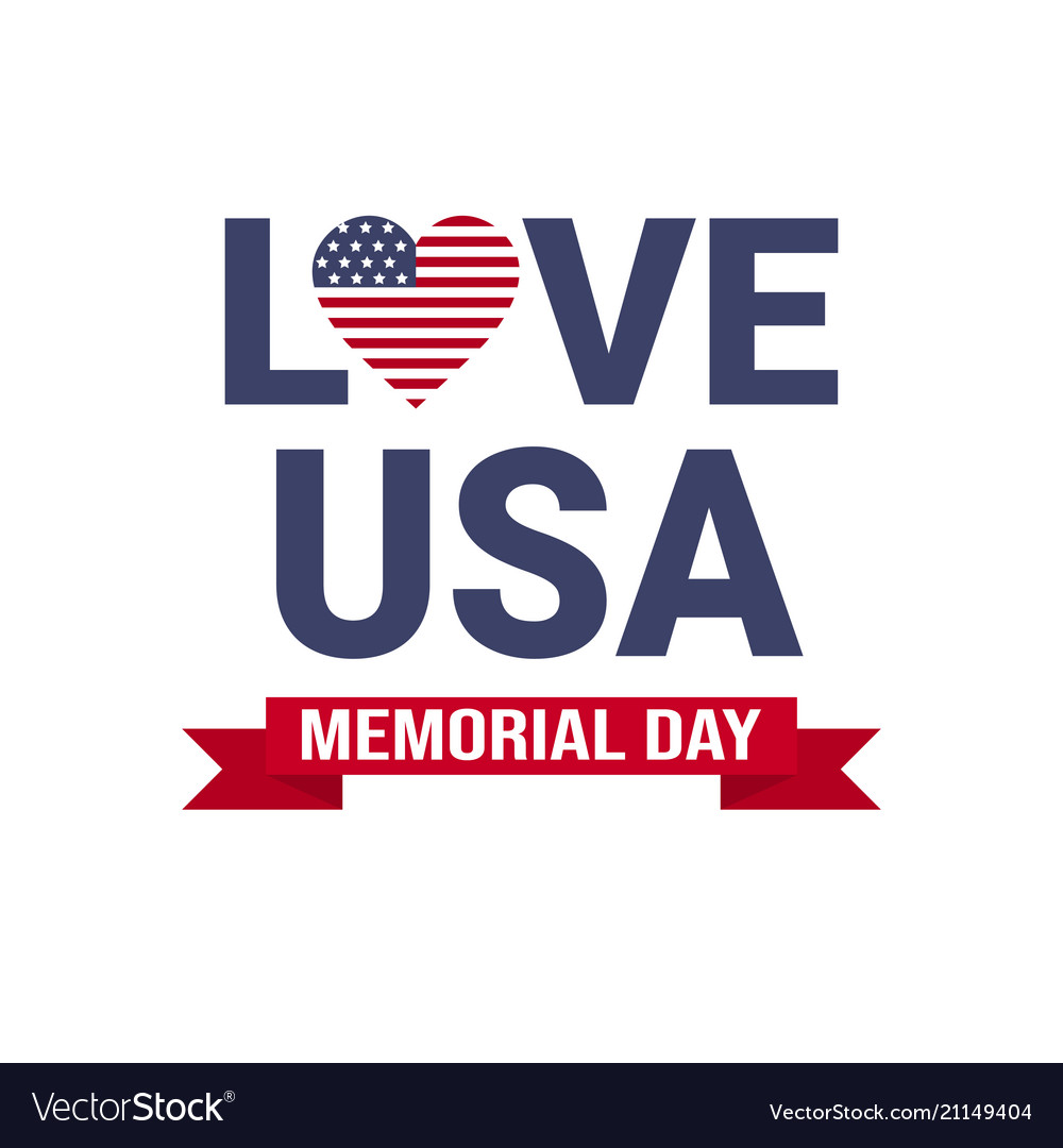 Memorial day usa greeting card wallpaper national
