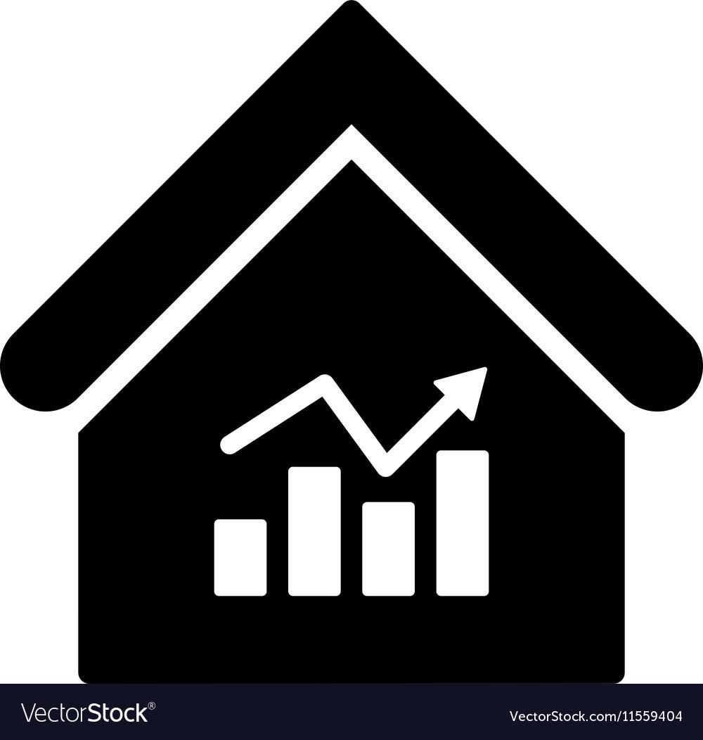 Realty Charts Flat Icon