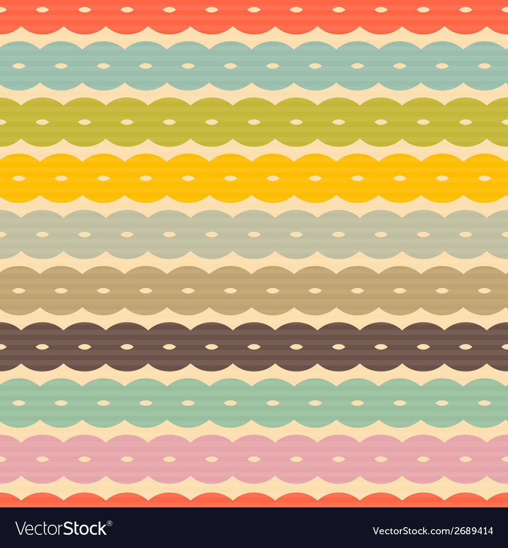 Seamless Retro Background