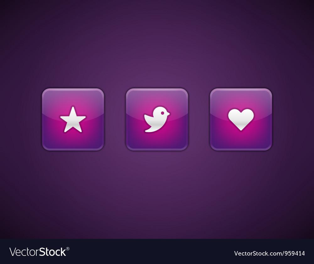 Web site buttons