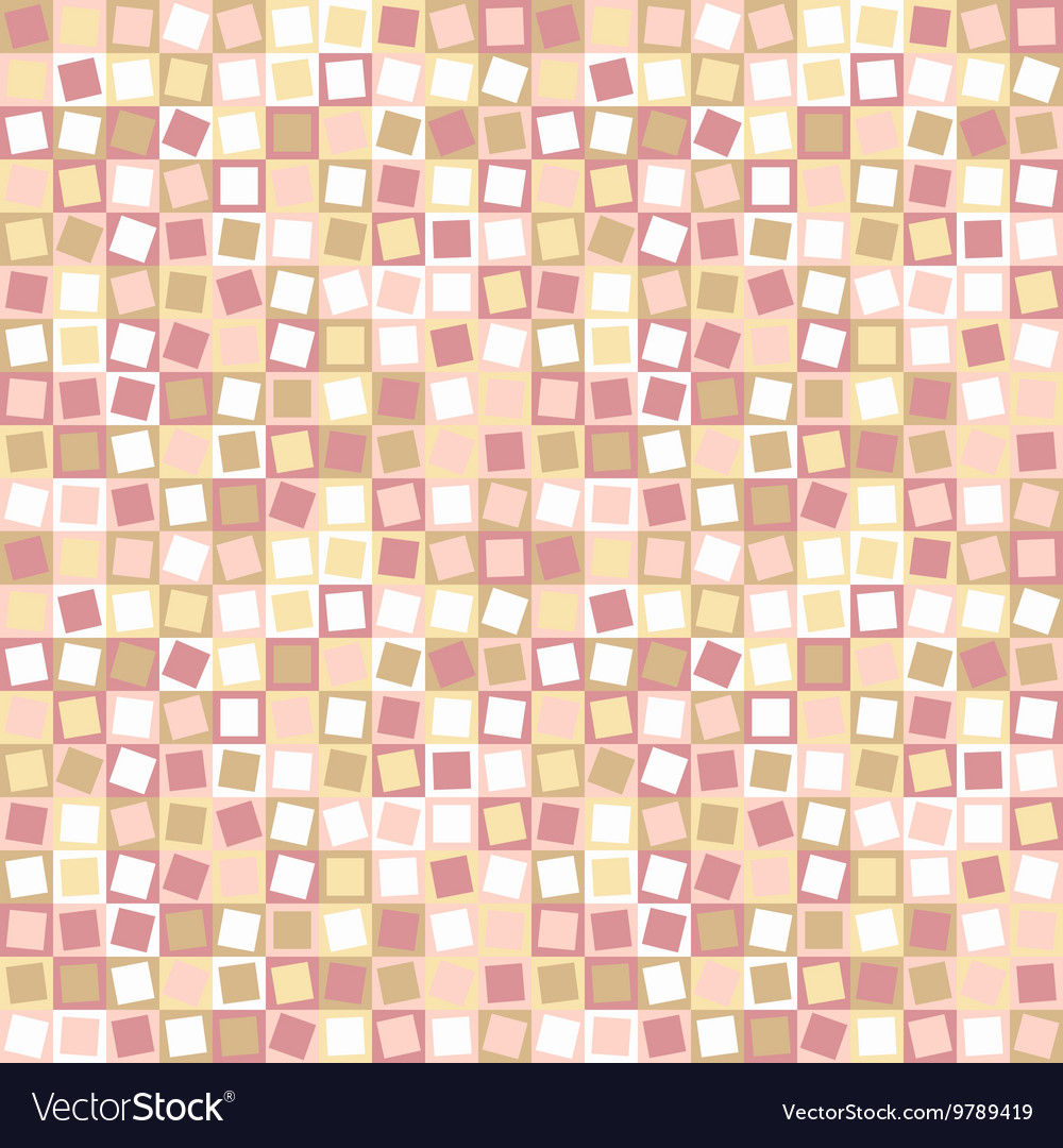 Seamless abstract square pattern
