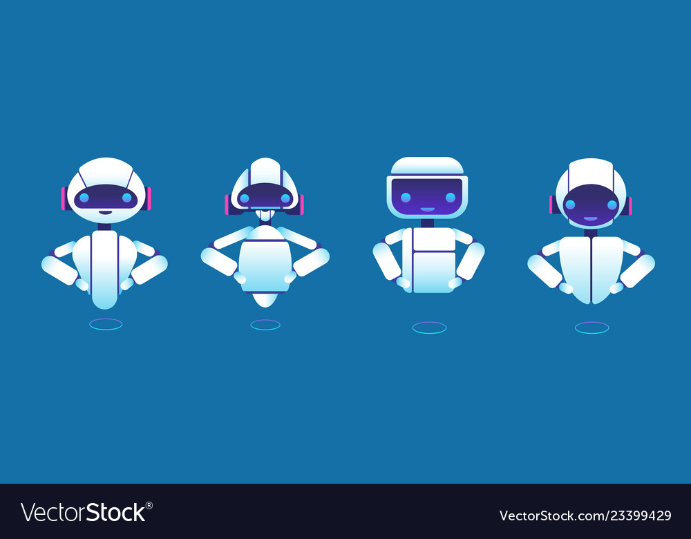Cute chatbots robot assistant chatter bot
