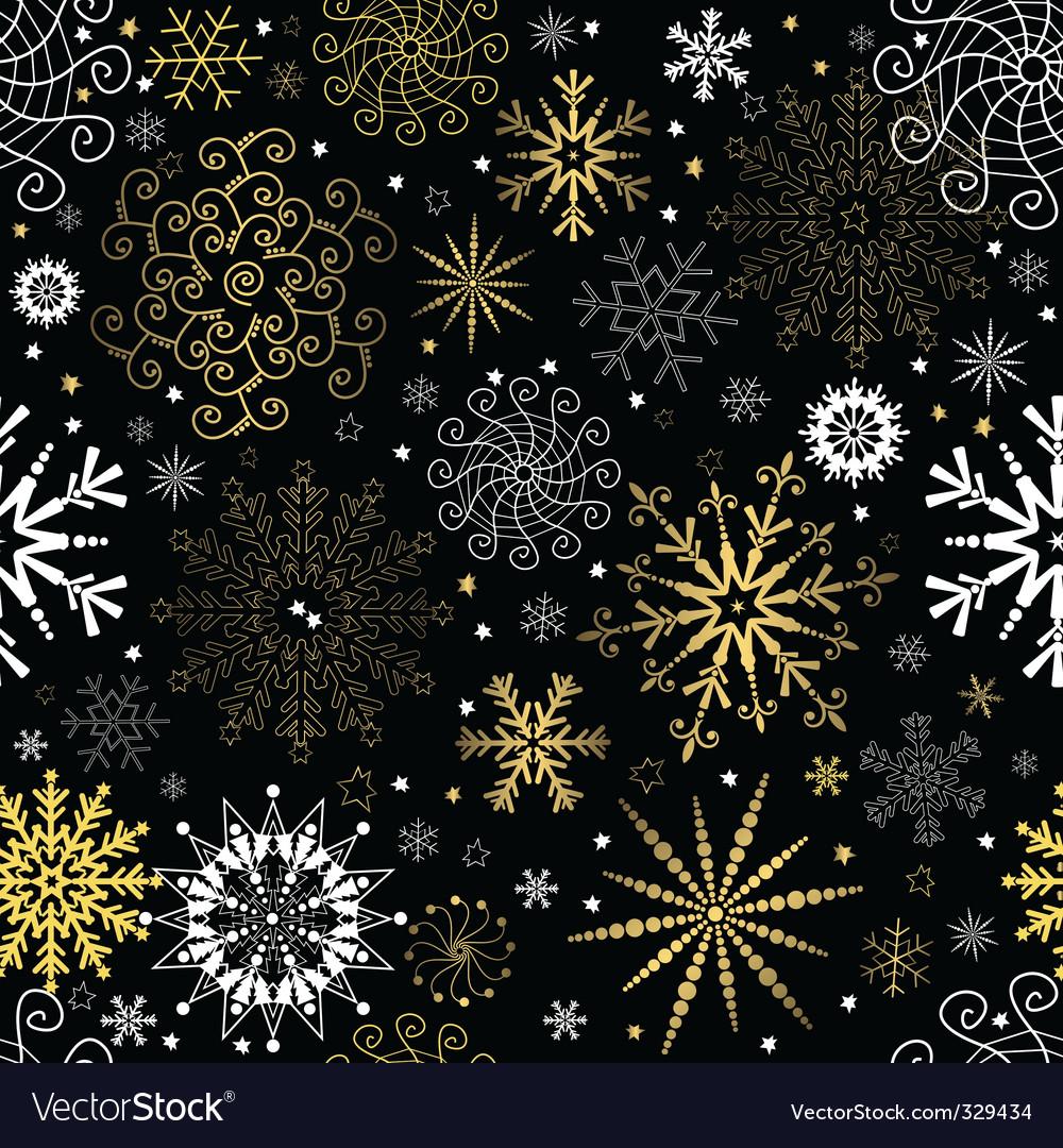 Christmas Wallpaper Royalty Free Vector Image Vectorstock
