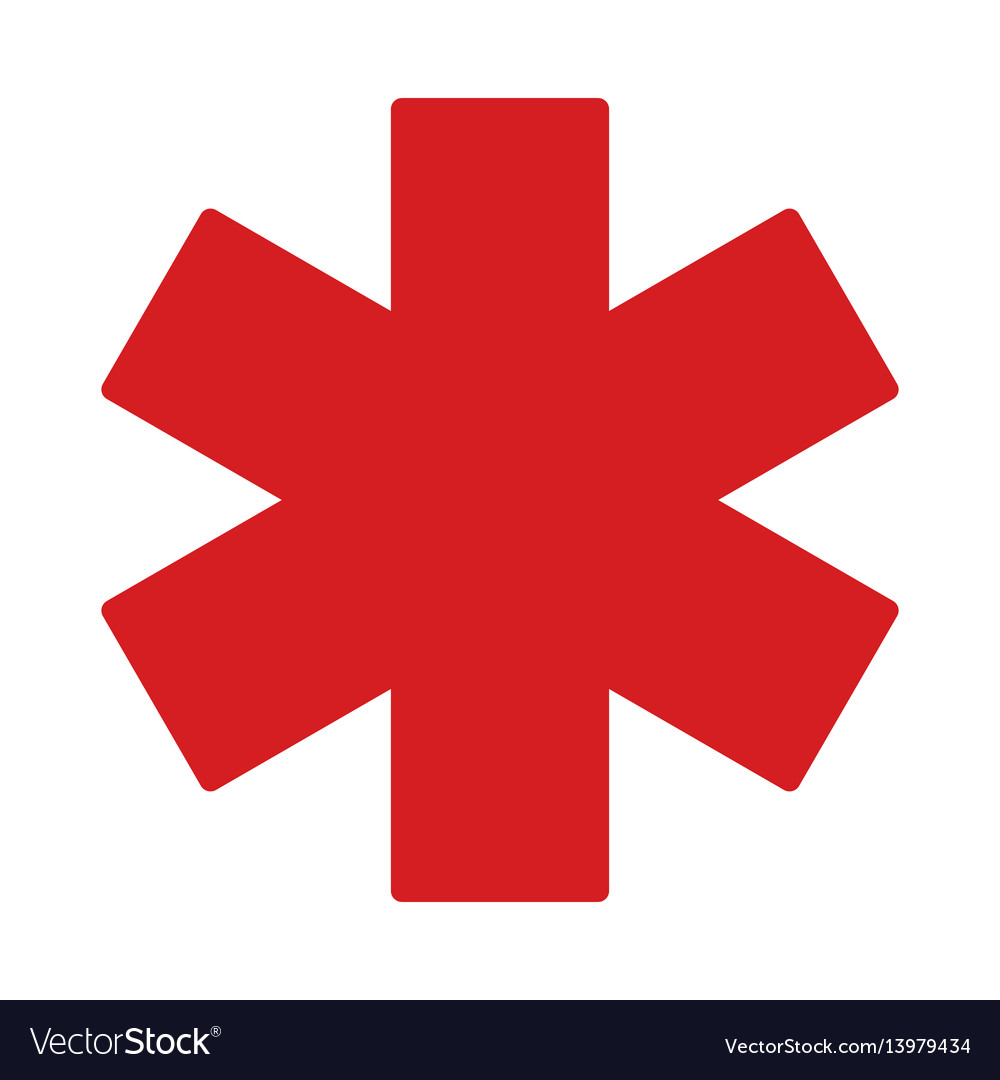 Medical object flat icon