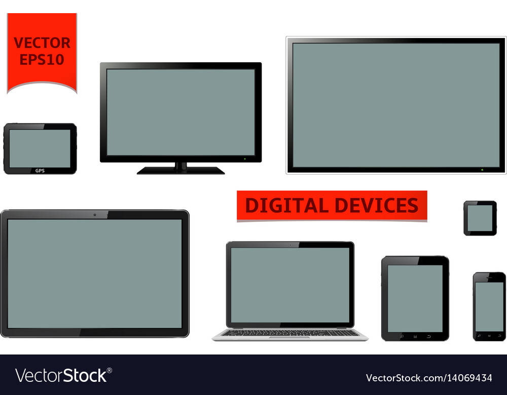 Various Modern Digital Devices