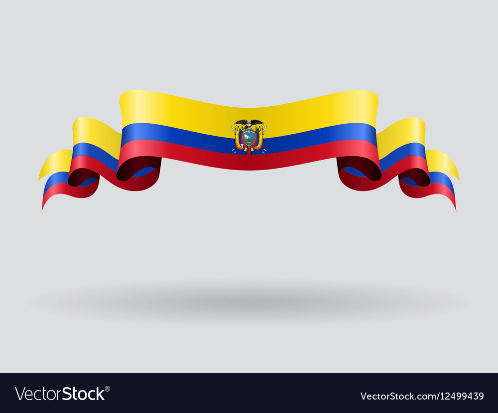 Ecuadorian wavy flag