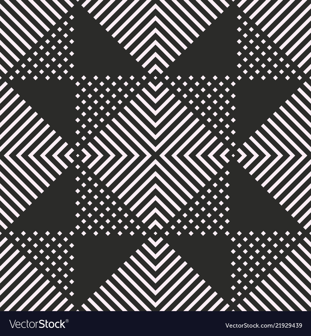 Geometric square seamless pattern