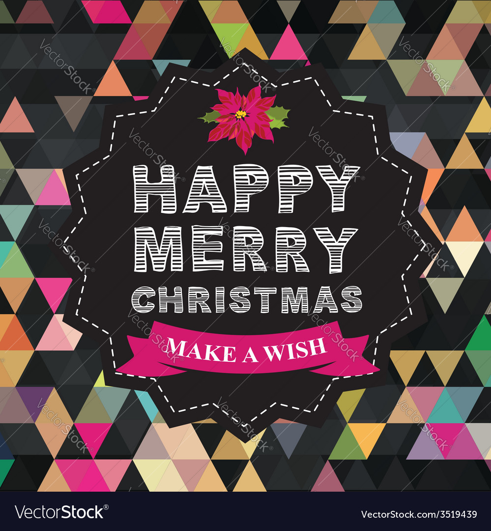 Poster Merry Christmas