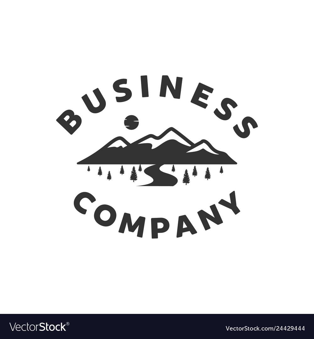 Mountain view logo designs