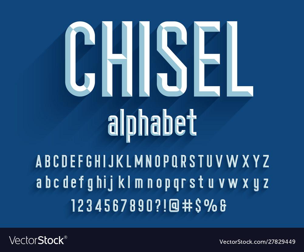 Chisel font