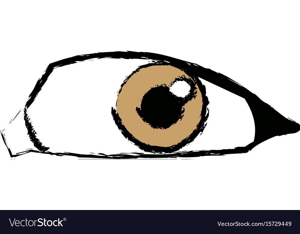 Comic eye look optical style