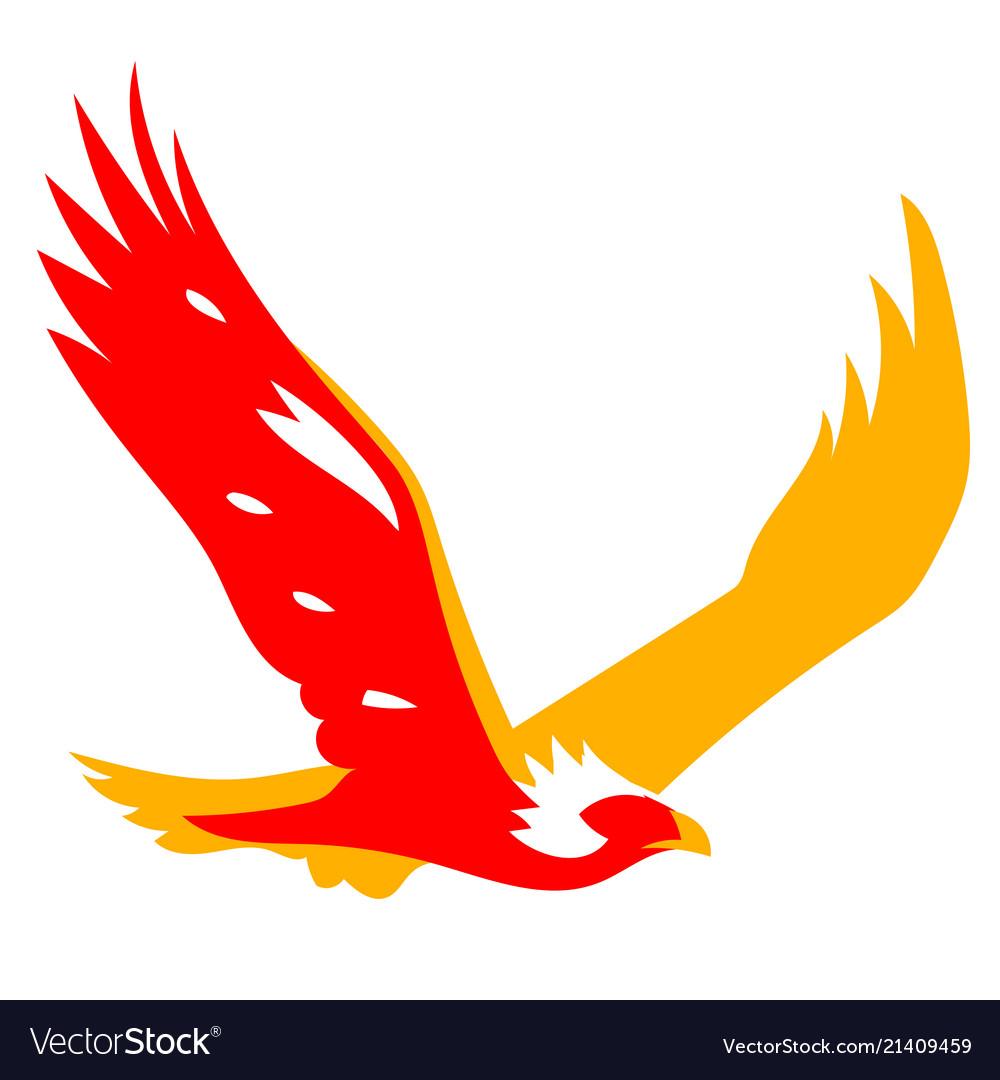 Eagle Bird Symbol Royalty Free Vector Image Vectorstock