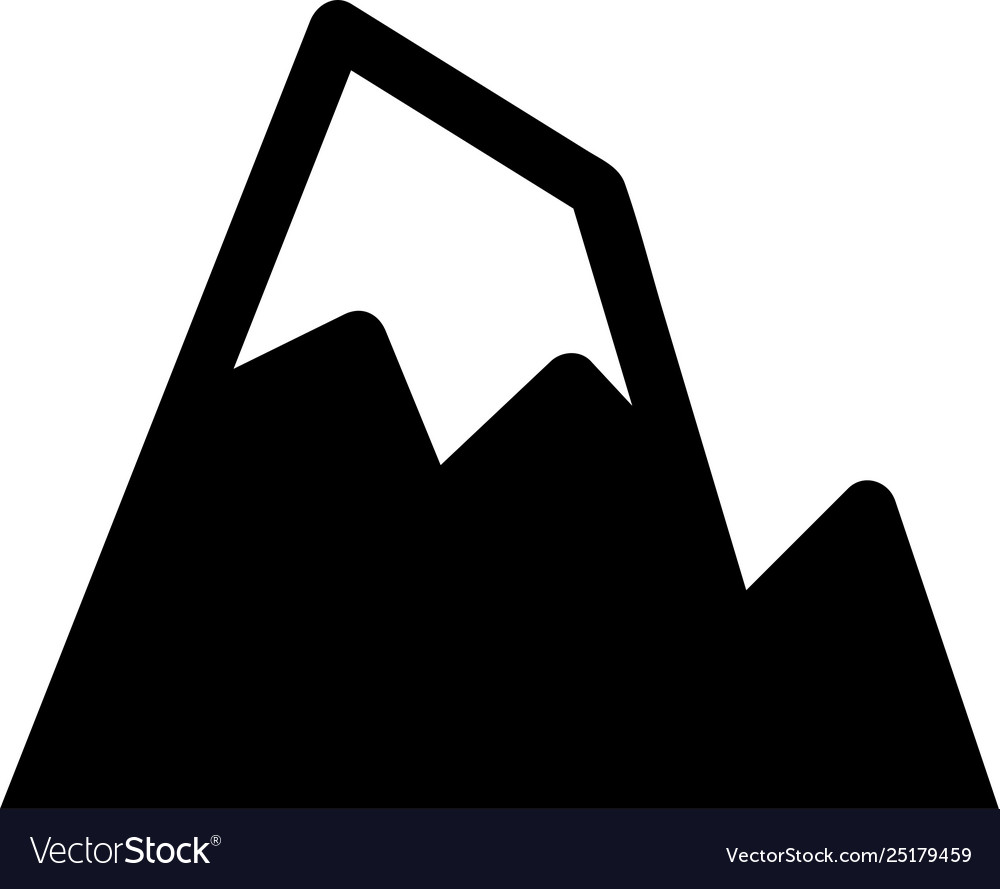 Mountain and hill