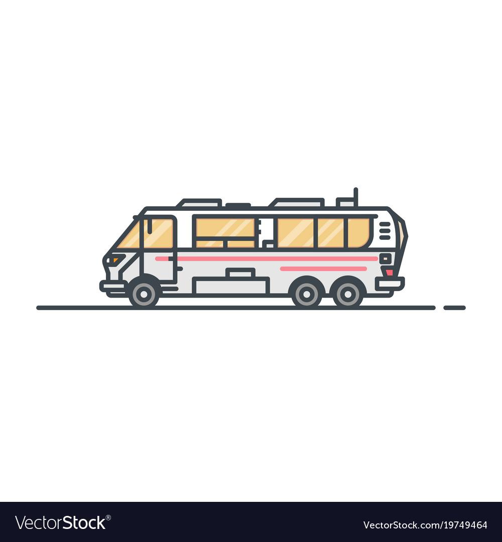 Camper caravan