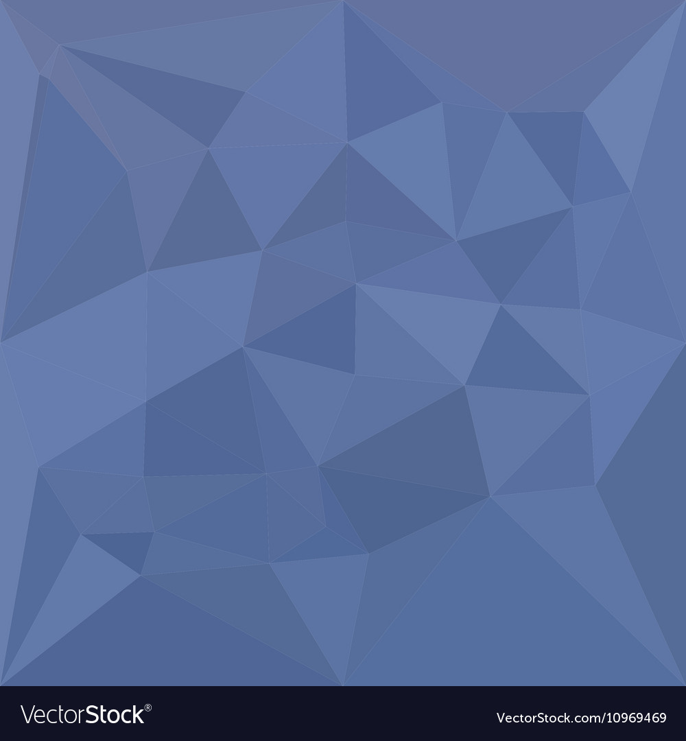 Cornflower blue abstract low polygon background vector image izmirmasajfo