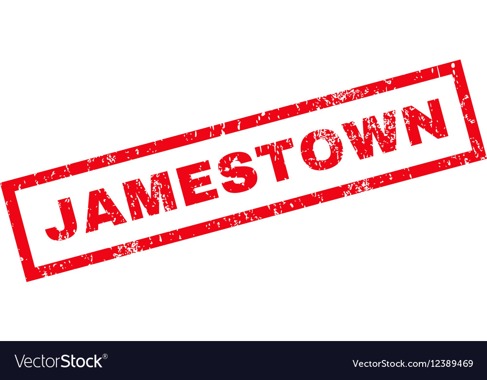 Jamestown Rubber Stamp Vector Image