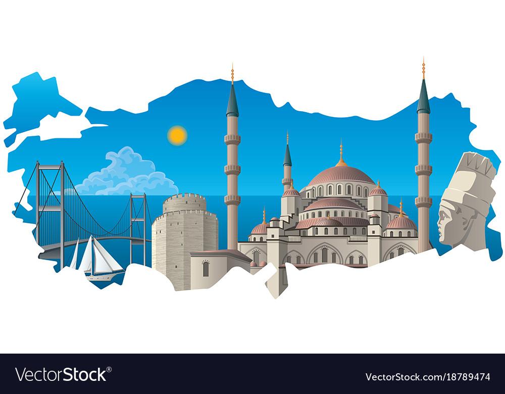 Famous turkish landmarks