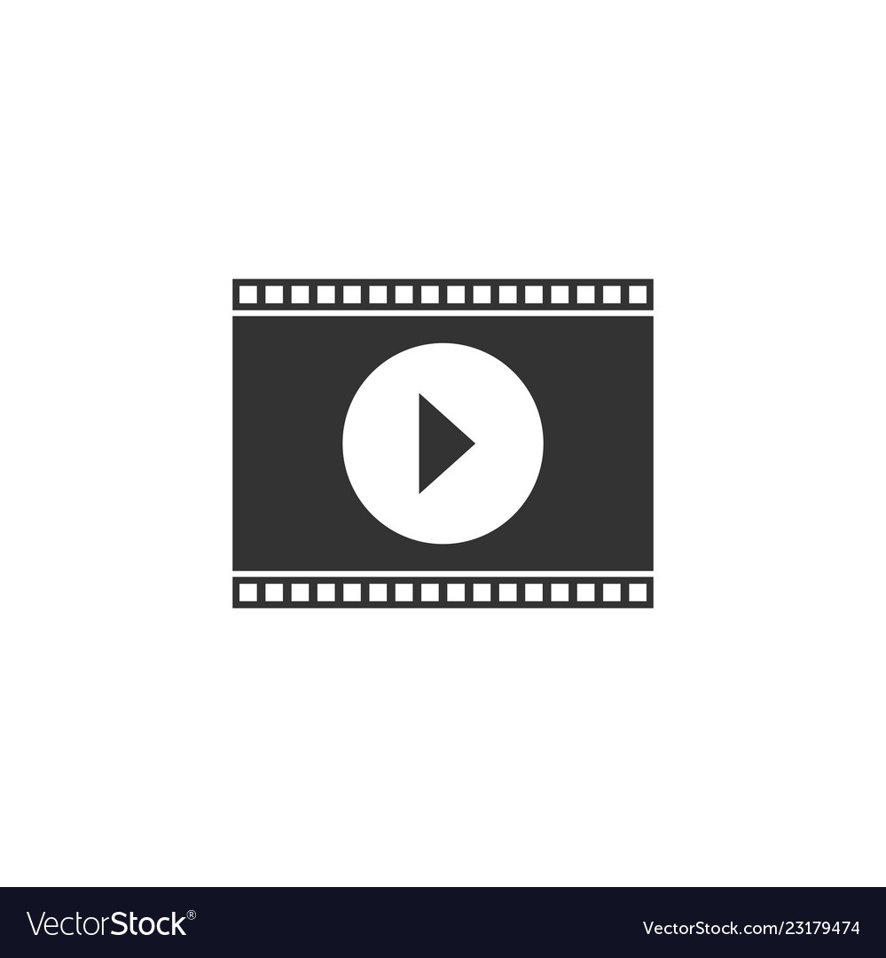 Movie icon flat