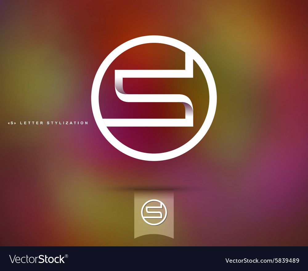 Abstract Logo Design Template vector image