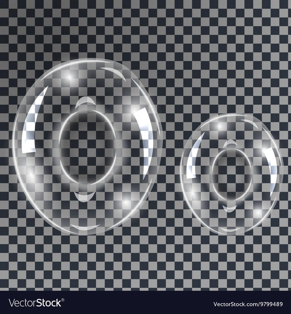 Bubbles letters O