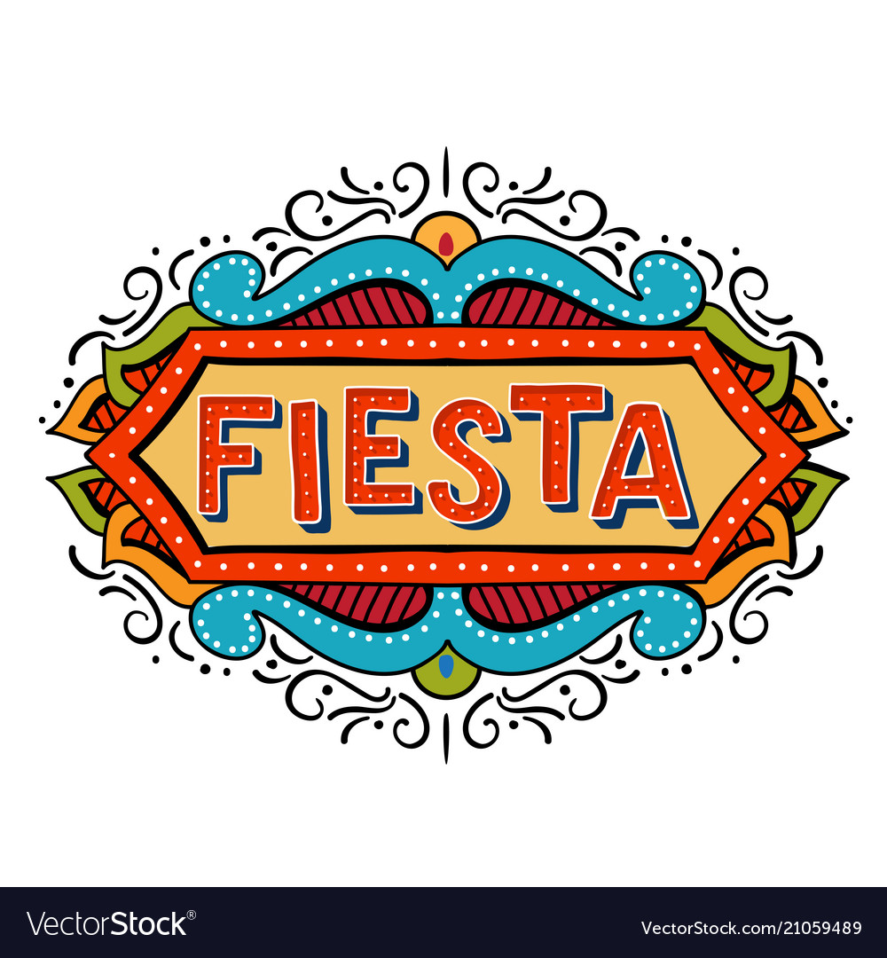 Fiesta banner and poster concept design